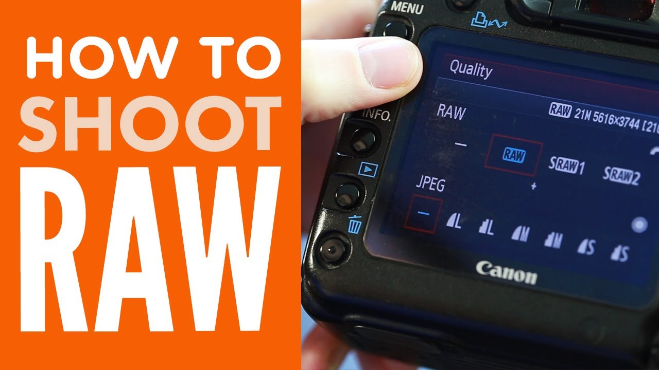 How to Shoot in RAW from PhotographyConcentrate com