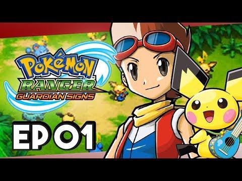 Pokemon Ranger Guardian Signs Part 1 Ukulele Pichu! Gameplay Walkthrough