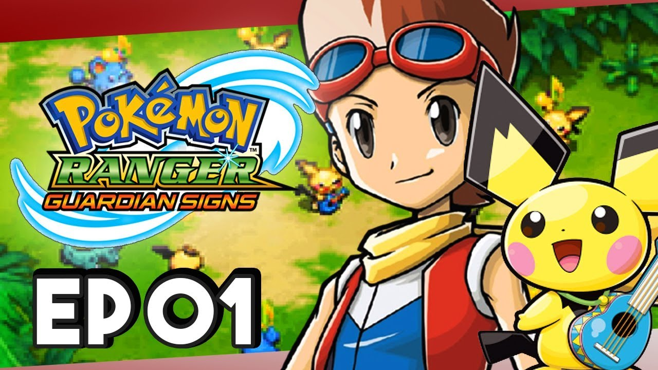 Pokemon Ranger Guardian Signs Part 1 Ukulele Pichu! Gameplay Walkthrough