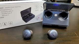 No Name E20 True Wireless Earbuds with PowerBank Charging Case Review