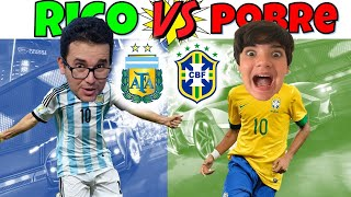 RICO VS POBRE -  NEYMAR VS MESSI NO ROCKET LEAGUE | PEDRO MAIA
