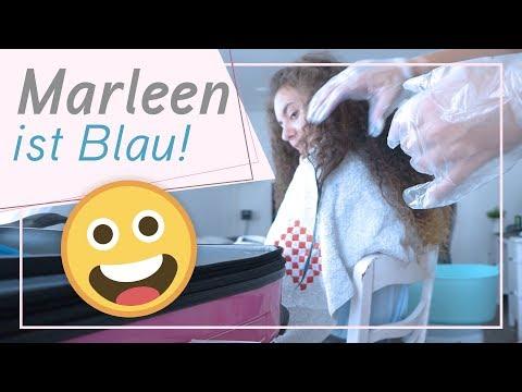 Marleens Haare werden BLAU / Das Chaos bricht aus / 26.7.18 / FRAU_SEIN