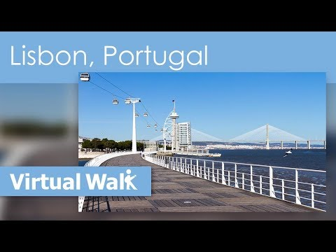Lisbon - HD Vacation Travel Guide & Indoor Exercise Video