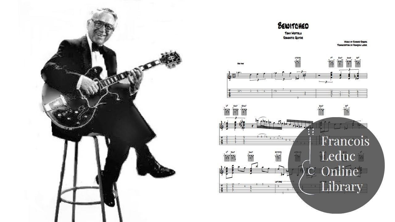 Bewitched - Tony Mottola (Transcription)