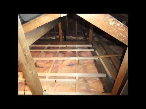 Werner Wood Attic Ladders Long Installation Video Doovi