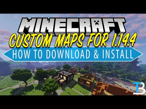 How To Download & Install Minecraft Maps In Minecraft 1.14.4 (Add Maps To Minecraft PC!)