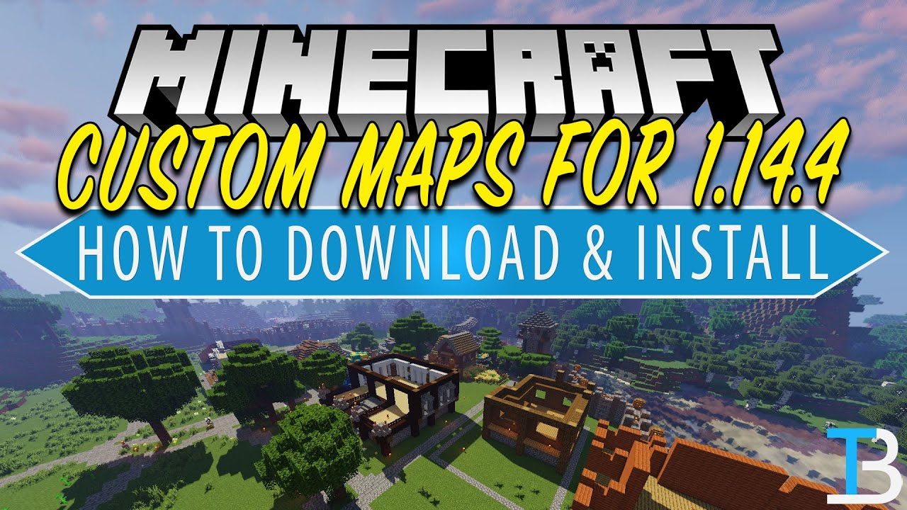 How To Download & Install Minecraft Maps in Minecraft 12.1212.12 (Add Maps to  Minecraft PC!)
