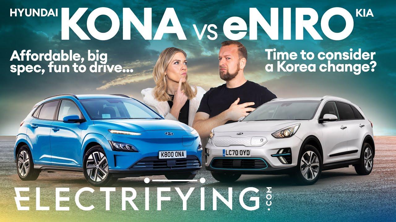 New Hyundai Kona Electric vs Kia e-Niro – Two sisters, only one winner / Electrifying