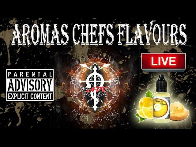 APV 225. El TORMENTO ACECHA LAS CALLES!!! Aromas CHEFS FLAVOURS