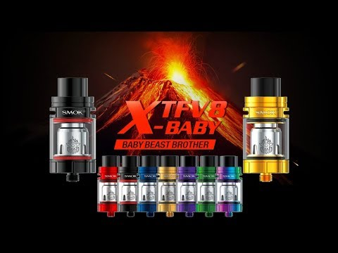 The NEW SMOK TFV8 X-Baby Beast Brother Subohm Tank! Giveaway!