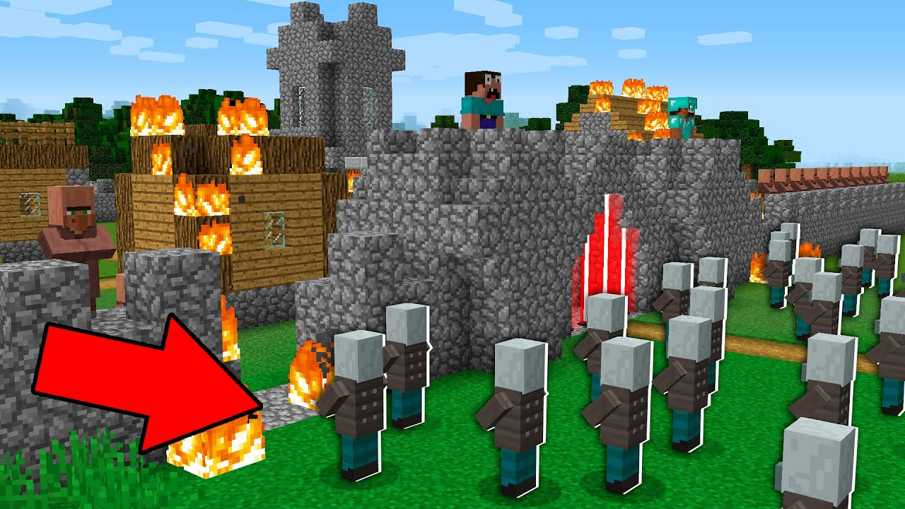 Minecraft Battle WHO IS STRONGER? Villager vs Pillager