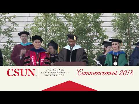 CSUN Commencement 2018: Mike Curb College of Arts, Media, and Comm.