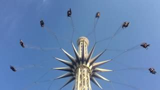 スターフライヤー@ナガシマスパーランド。 - Star Flyer the extremely tall trapeze at Nagashima Spaland -