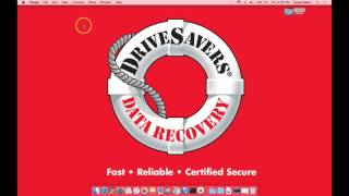 DriveSavers Post Data Recovery Support Video 09 - Restoring iTunes Backup from iPhone Recovery-Mac