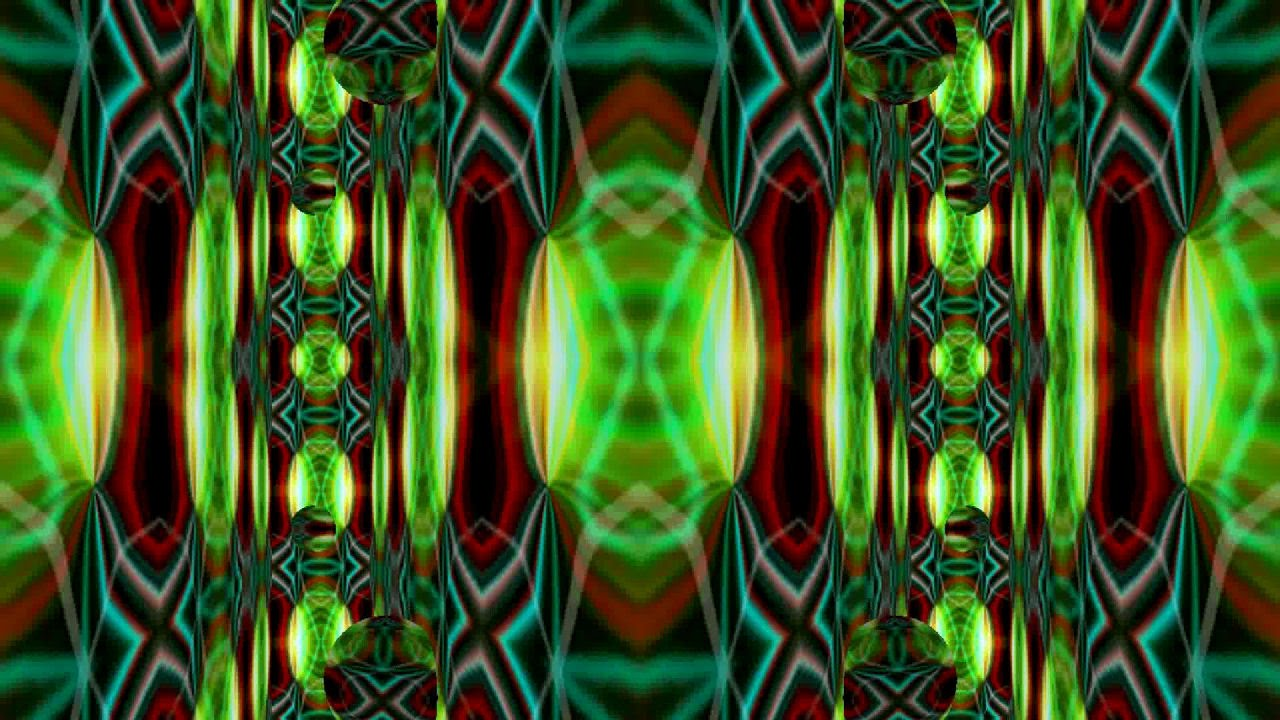 psychedelic vj loop mix - toucan music free dj mix - kaleidoscope