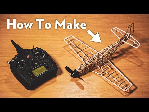 How To Make a Balsa Wood P-51D Mustang!