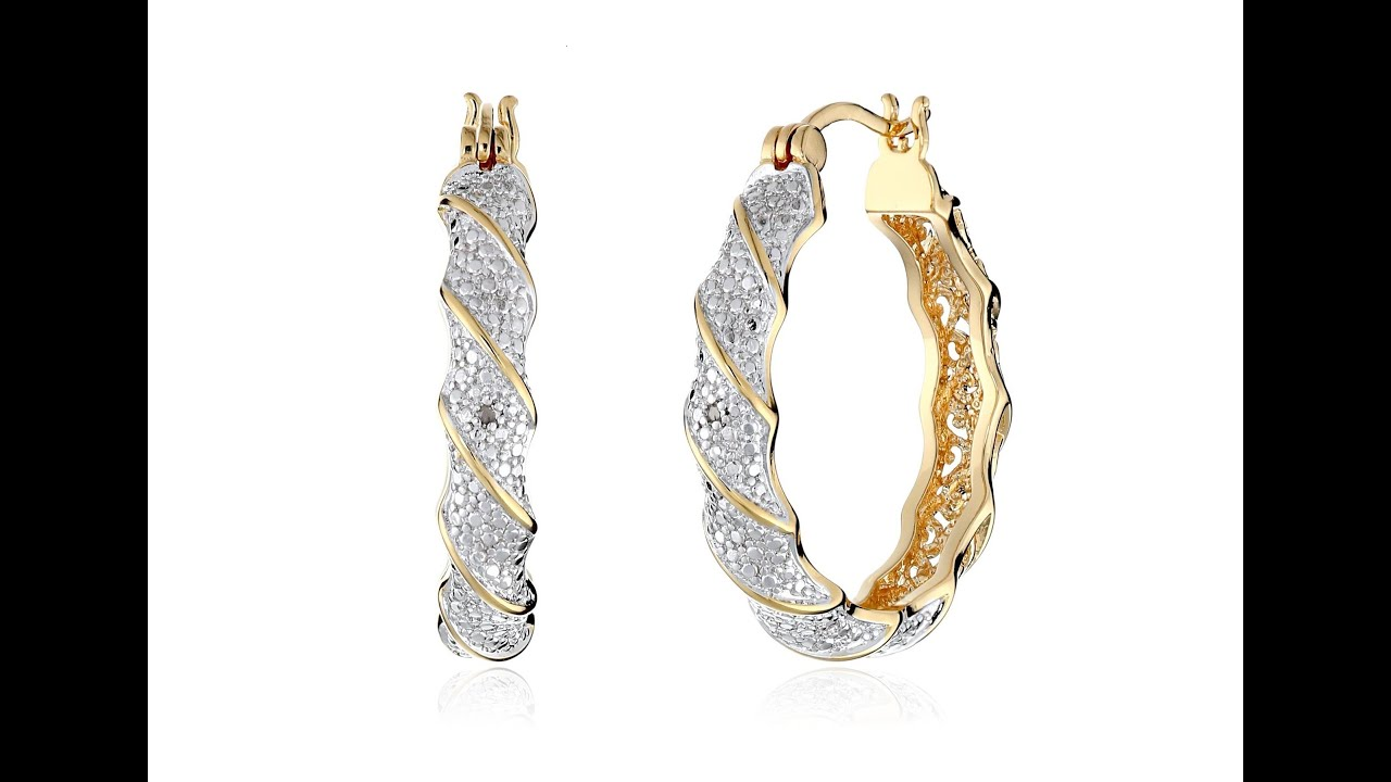 carat greek hoop plated diamondprincess earrings gold diamond shop in yellow product natural gorgeous accent key rakuten