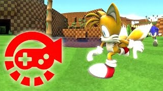Download 360° Video - Run Sonic Run, Green Hill Zone Mp3 and Videos