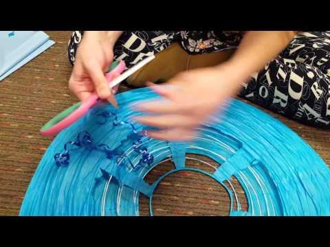 Becki's Paper Lantern Jellyfish Tutorial