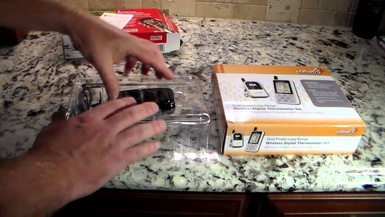 wireless meat u0026 bbq digital thermometer solutions youtube
