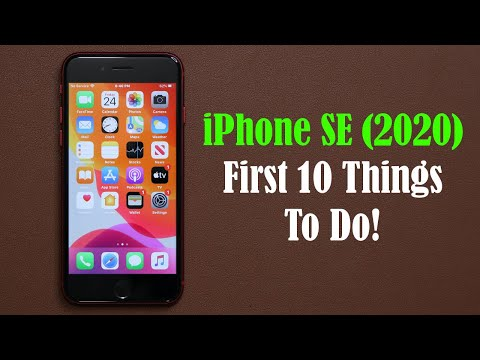 iPhone SE 2020 - First 10 Things To Do!