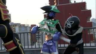 第4話)大阪ご当地ヒーロー|浪速伝説トライオー エピソード1