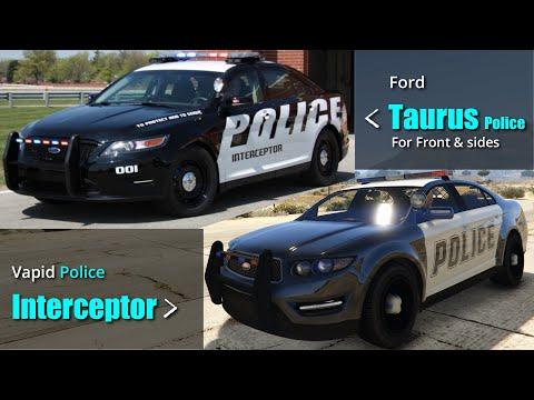 GTA V Police Vehicles VS Real Police Vehicles | All Police Cars, SUVs, Etc