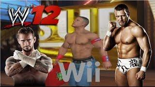 WWE '12 Wii Gameplay - John Cena vs Stone Cold (Plus More)