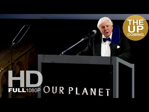 Our Planet: David Attenborough speech at premiere