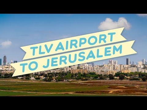 Ben Gurion Airport (TLV)- Jerusalem new bus line