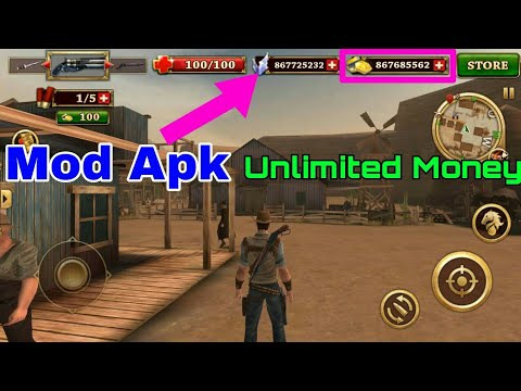 WEST GUNFIGHTER Mod Apk Unlimited Money For Android  #Smartphone #Android