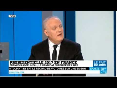 François Asselineau magistral sur France 24 !
