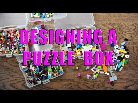 Design Series: BUILDING A LEGO PUZZLE BOX