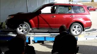 Symmetrical All-Wheel Drive Traction Test