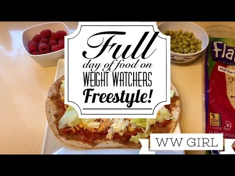 Weight Watchers Freestyle - Full Day of Food! Breakfast Lunch Dinner Dessert & Snacks!