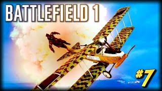 BATTLEFIELD 1 - Unfortunate Moments #7 (Flying Fails!)
