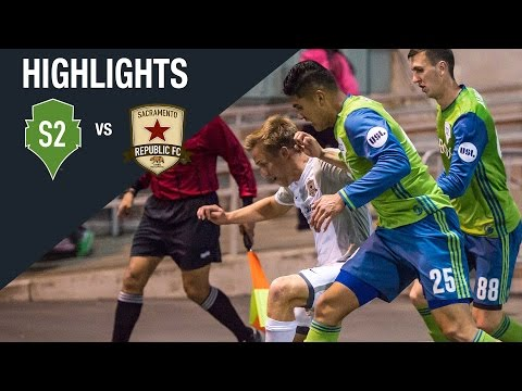 Highlights: Seattle Sounders FC 2 vs Sacramento Republic FC
