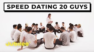 20 vs 1: Speed Dating 20 Guys | Jubilee x Solfa thumbnail
