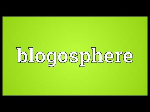Blogosphere Meaning