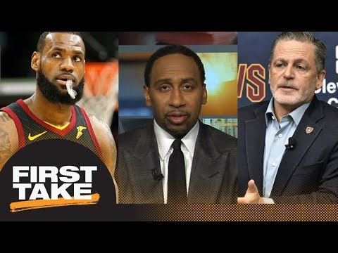 Stephen A. Smith: LeBron James and Dan Gilbert responsible for Cavaliers' issues | First Take | ESPN