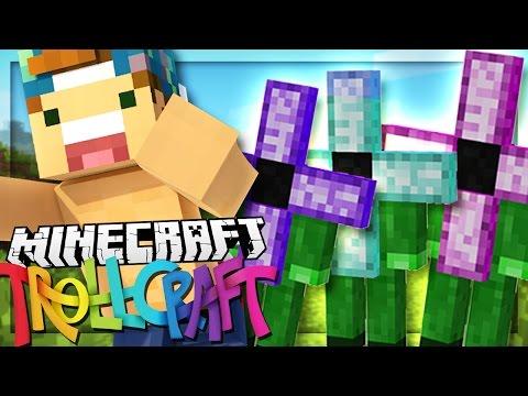 IM BEING CHASED BY FLOWER-PEOPLE!? | Minecraft: TrollCraft
