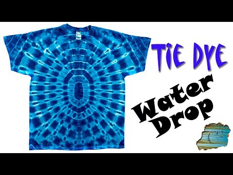 How To Tie Dye Water Drop You