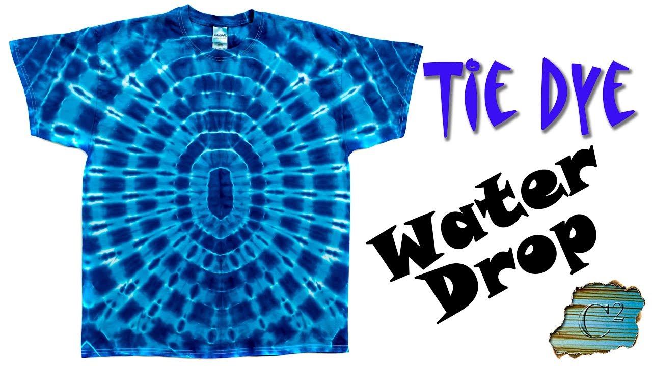 e28f98e35e How to Tie Dye: Water Drop - YouTube
