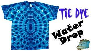 How to Tie Dye:  Water Drop