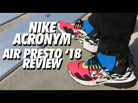 detailed look aeee9 e9d96 ACRONYM x NIKE AIR PRESTO 18 REVIEW!