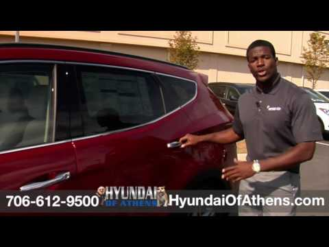 2017 Hyundai Santa Fe Sport Athens GA - Projecter Beam Headlights for sale at Hyundai of Athens