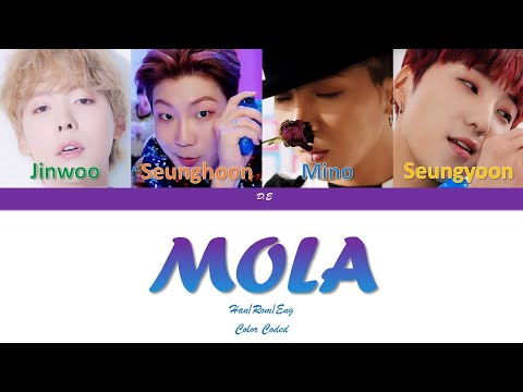 "WINNER-""MOLA(몰라도너무몰라)""-Lyrics[Color Coded Lyrics Han/Rom/Eng]"