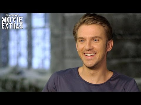 Beauty and the Beast  Onset visit with Dan Stevens 'Beast'