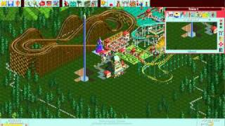 RollerCoaster Tycoon Deluxe - Forest Frontiers [HD] (Hasbro Interactive) (1999/2002)