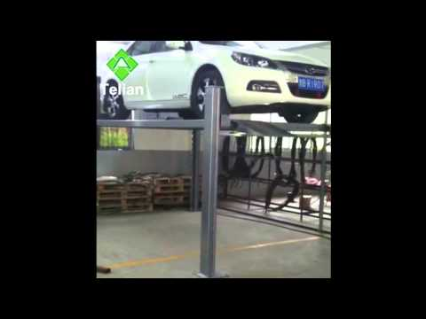 Qingdao Telian Four Post Car Parking Lift PTJ601-20
